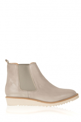 Maluo |  Leather ankle boots Pip | grey