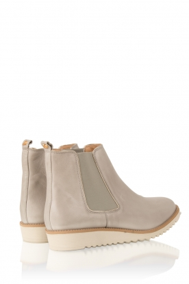 Leather ankle boots Pip | grey