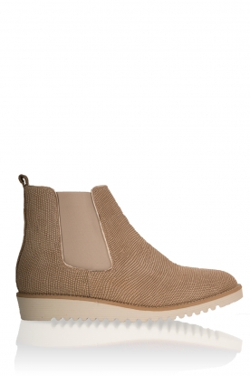 Leather ankle boots Pip | sand
