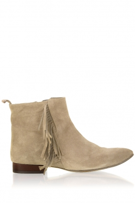 Maluo |  Suede ankle boot May | brown