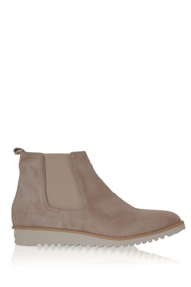 Maluo |  Leather ankle boot Pip | grey