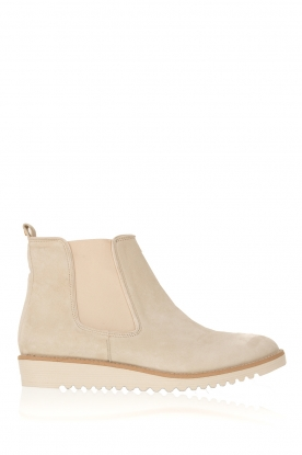 Maluo |  Suede ankle boot Pip | off-white