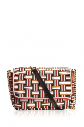 Becksöndergaard | Shoulder bag with braided pattern Gemma | print
