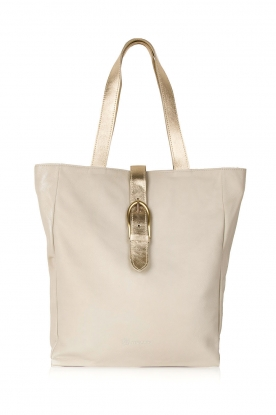 Maluo |  Leather shoulderbag Eden | natural