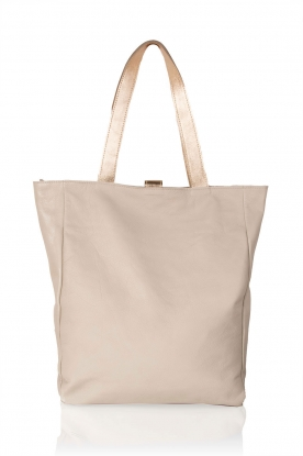 Leather shoulderbag Eden | natural