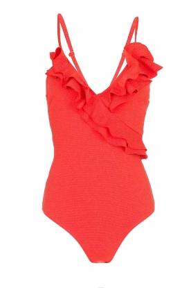 Becksöndergaard | Swimsuit Maria | red