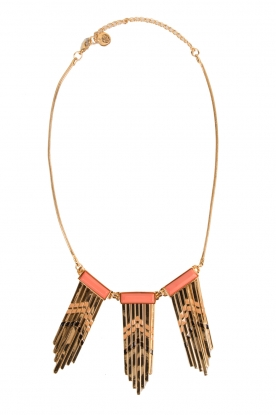 Necklace Shell | gold