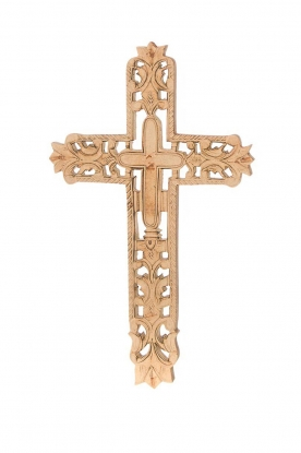 Little Soho Living |  Wooden cross Jax | brown
