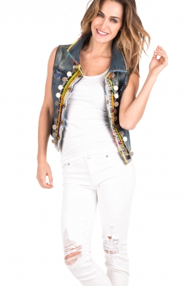 Dassios | Denim Gilet Gaya | multi