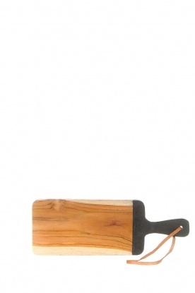 Little Soho Living | Wooden cutting board Vince | brown