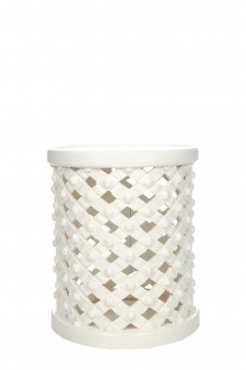 Little Soho Living |  Side table Scott - tall | white