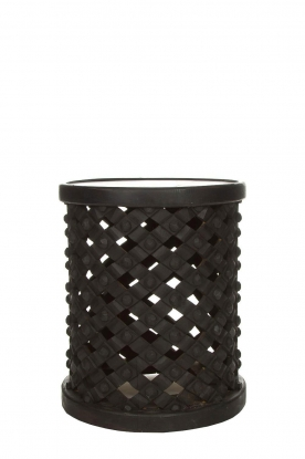 Little Soho Living |  Side table Scott - tall | black