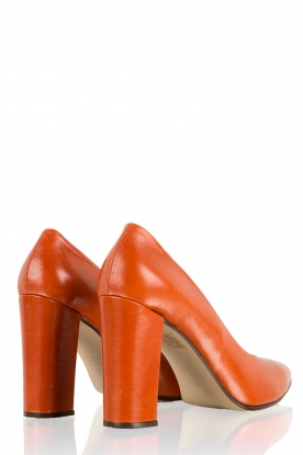 Leather pumps Norva | rust