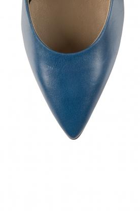 Noe | Leren pumps Norva | blauw