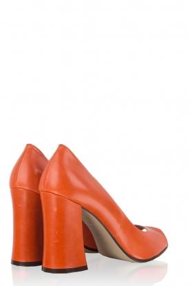 Leather pump Nicla | mandarin