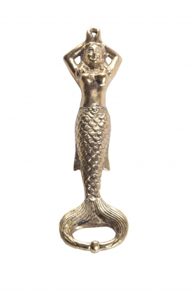 Little Soho Living |Luxe flesopener Mermaid | goud