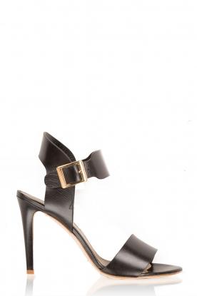 Noe | Leren sandalen Nabila | zwart