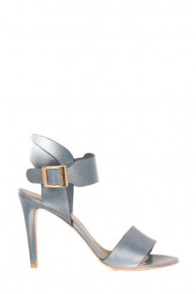 Noe | Leren sandalen Nabila | blauw