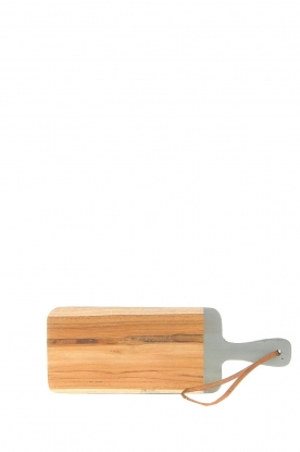 Little Soho Living | Wooden cutting board Vince | grey