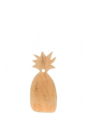 Little Soho Living |  Wooden cutting board Pineapple - large | brown