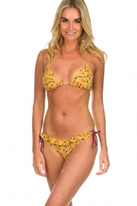 Melt |  Bikini bottom with leopard print Leopard | animal