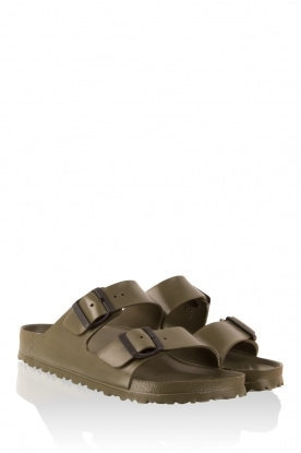 Water-resistant wellness sandalen Arizona | khaki
