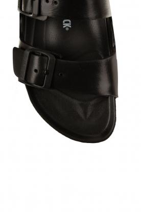 Birkenstock | Water-resistant wellness sandaal Arizona | zwart