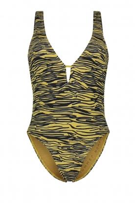 Melt |  Bathing suit with animal print Zebra | animal