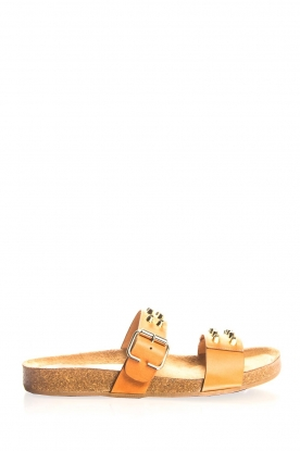Toral |  Studded leather sandals Yaella | camel