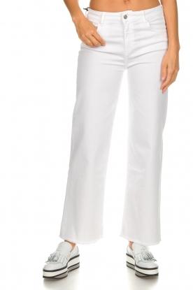 Lois Jeans |  Culotte jeans Neva | white