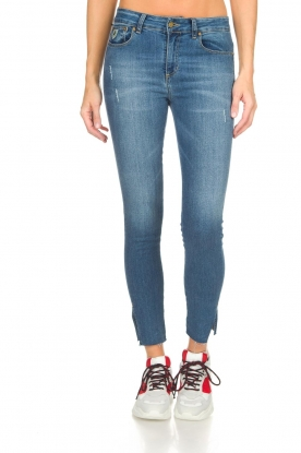 Lois Jeans | Mid-rise jeans Cordoba | blauw