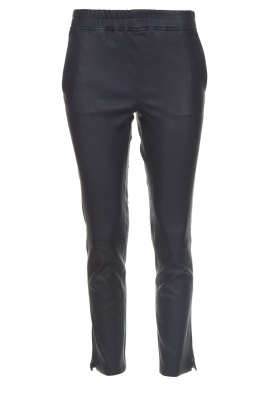 Arma |  Leather pants Provence | blue