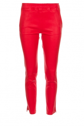 Arma |  Leather pants Provence | red