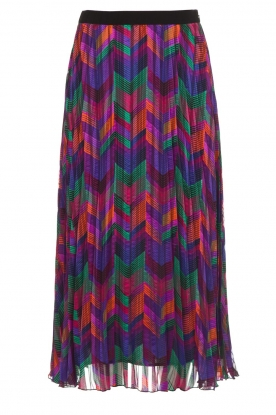 ba&sh |  Printed maxi skirt Paolo | multi