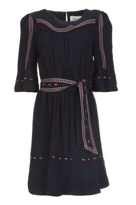 ba&sh |  Embroidered dress Plaza | blue