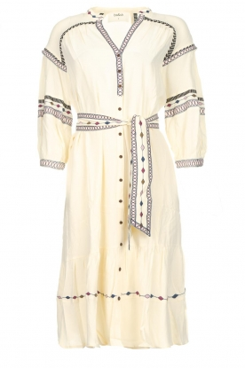 ba&sh |  Embroidered blouse dress Patty | natural