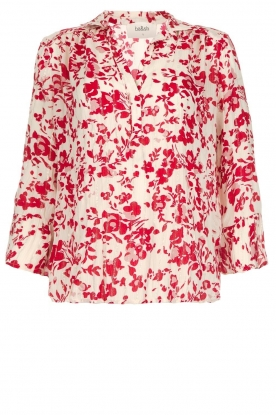 ba&sh |  Blouse with floral print Eddy| natural