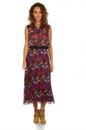 ba&sh |  Midi skirt with print Paolo | multi