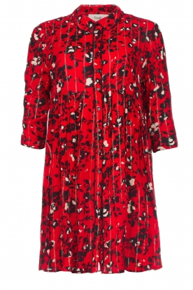 ba&sh |  Dress with print Erine | red