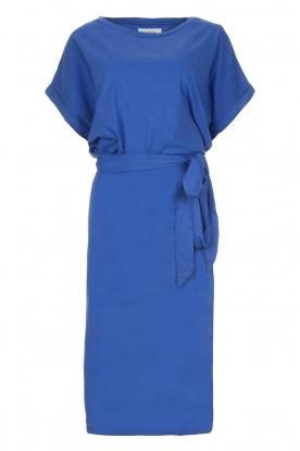 BA&SH Midi wikkeljurk Clare  blauw