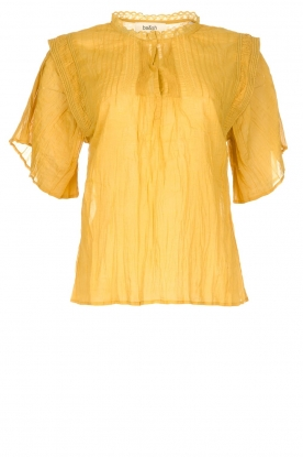 ba&sh |  Ochre yellow blouse Serena | yellow