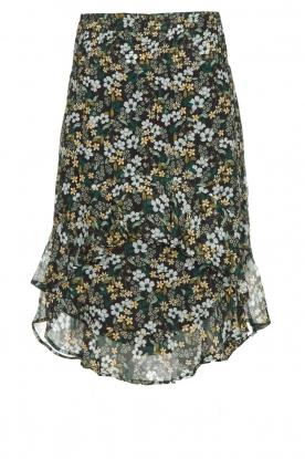 Munthe |  Floral midi skirt Deck | multi