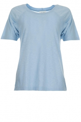 American Vintage |  Cotton T-shirt Lorkford | blue