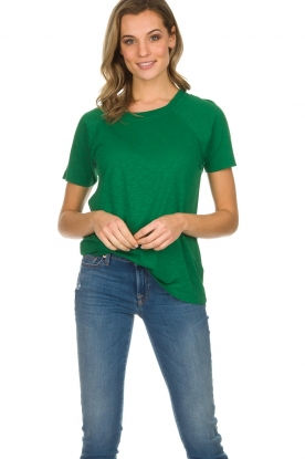 American Vintage |  Cotton T-shirt Lorkford | green