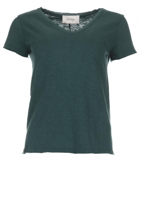 American Vintage |  Cotton T-shirt Sonoma | green