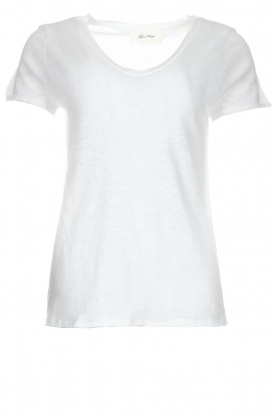 American Vintage |  Cotton T-shirt Sonoma | white