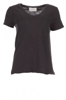 American Vintage |  Cotton T-shirt Sonoma | dark grey