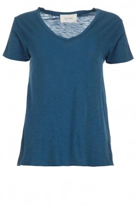 American Vintage | Basic T-shirt Jacksonville | blauw