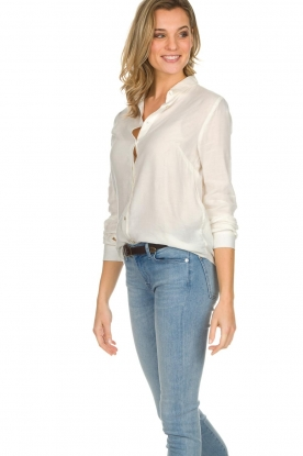 American Vintage   Basic blouse Dorabird   wit