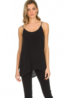 American Vintage |  Sleeveless top Nonogarden | black